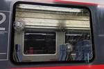 Regionalbahnen in Rövershagen mit Steinen beworfen