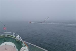 Seenotretter im Einsatz für orientierungslosen Angler