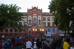 600 Jahre Universität Rostock feiert die Hochschule mit einem Sommerfest auf dem Universitätsplatz