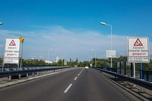 Straßenbauarbeiten zwischen Stadtautobahn und Warnowtunnel