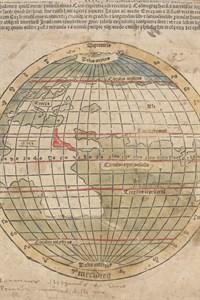 Als einzige Ausgabe des Mundus Novus enthält das Rostocker Exemplar als ganzseitige Illustration eine handkolorierte Weltkarte nach dem antiken Geographen Claudius Ptolemäus. Ein sechszeiliger Textabschnitt über der Karte vergleicht das antike Wissen von Ptolemäus mit den neuen Erkenntnissen der Forschungsreise Vespuccis. (Foto: Universitätsbibliothek Rostock)