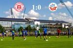 Hansa Rostock unterliegt Halle mit 0:1