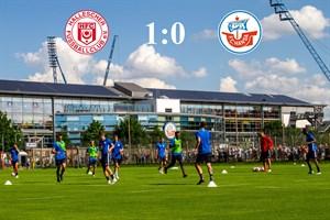 Hansa Rostock unterliegt Halle mit 0:1 (Foto: Archiv)
