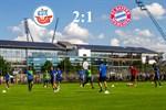 Hansa Rostock besiegt Bayern München II mit 2:1