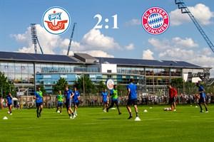 Hansa Rostock besiegt Bayern München II mit 2:1 (Foto: Archiv)