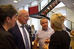 Das Abstimmungsverhalten der AfD sorgte für Diskussionen bei der konstituierenden Sitzung der 7. Rostocker Bürgerschaft