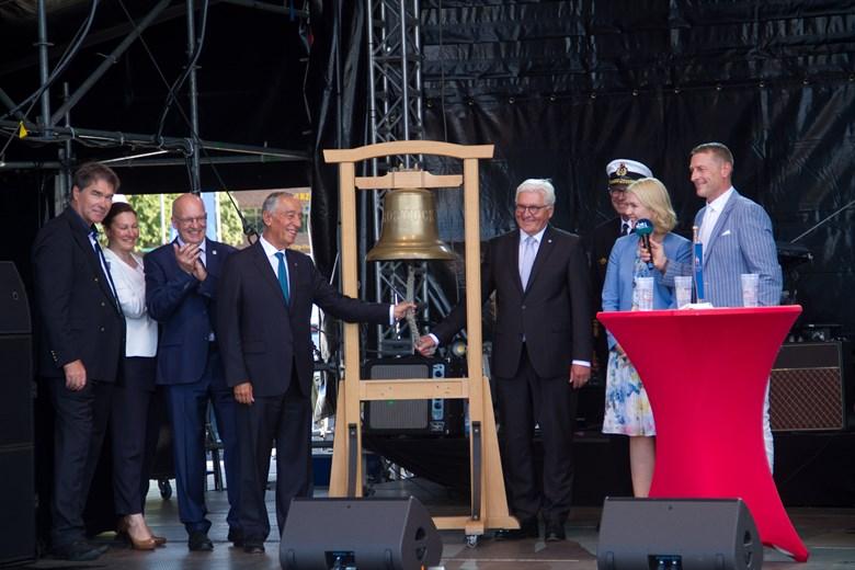 Bundespräsident eröffnet Hanse Sail 2019