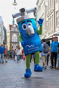 H2AJO, das neue Maskottchen von Nordwasser (Quelle: Nordwasser GmbH)
