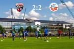 Hansa Rostock und Ingolstadt 04 trennen sich 2:2