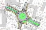 Umbau zum Kreisverkehr in Reutershagen beginnt am Montag