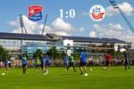 Hansa Rostock unterliegt Unterhaching mit 0:1