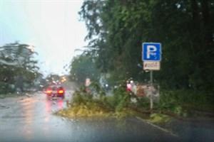 Unwetter sorgt für 150 Einsätze in Rostock