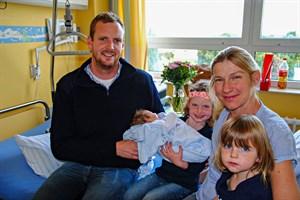 2.000 Geburt 2019 am Klinikum Südstadt Rostock (Foto: Klinikum Südstadt Rostock)