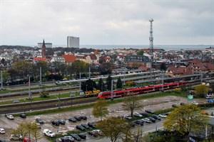 Umbau des Bahnhofs Warnemünde führt zu SEV (Foto: Archiv)