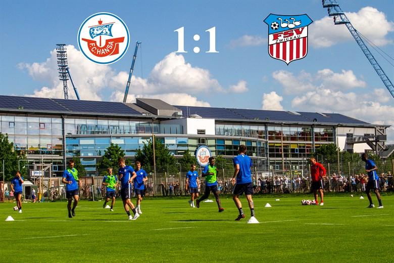 Hansa Rostock und Zwickau trennen sich 1:1