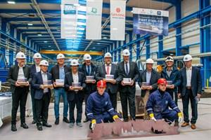 MV Werften beginnt Bau des zweiten Kreuzfahrtschiffes der Global Class (Foto: MV Werften)