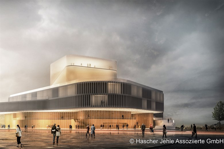 Volkstheater Rostock: Siegerentwurf für Theaterneubau gekürt