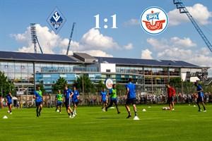 Hansa Rostock und Waldhof Mannheim trennen sich 1:1 (Foto: Archiv)