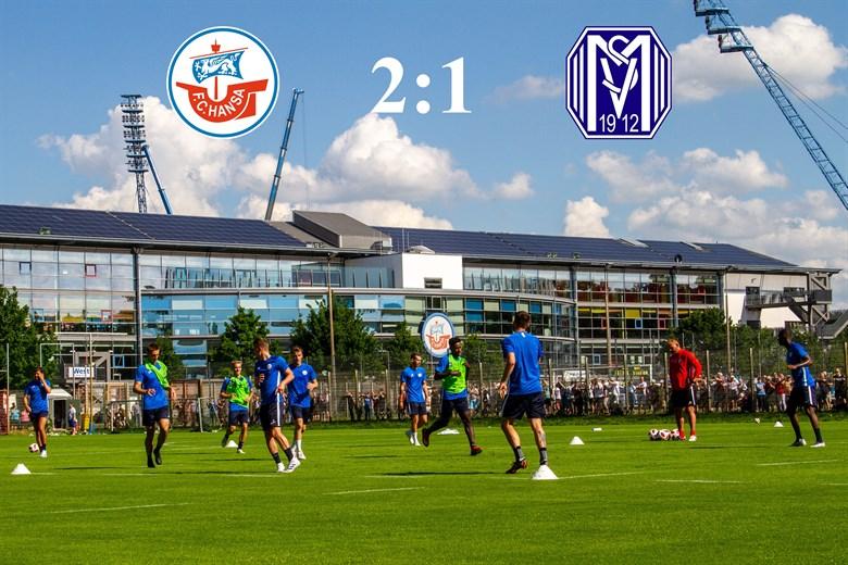 Hansa Rostock besiegt Meppen mit 2:1