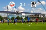 Hansa Rostock besiegt 1860 München mit 2:1
