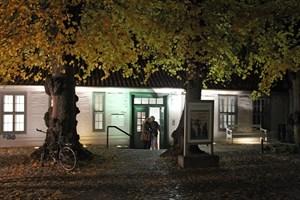 Im Klosterhof wird die Lange Nacht der Museen in Rostock am 26. Oktober 2019 um 18 Uhr eröffnet