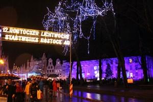 Die Rostocker Lichtwoche 2019 startet am 4. November (Foto: Archiv)