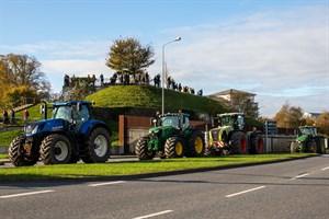 Trecker-Demo in Rostock – Bauernprotest gegen Agrarpolitik
