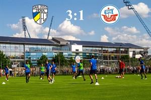 Hansa Rostock unterliegt Carl Zeiss Jena mit 1:3 (Foto: Archiv)