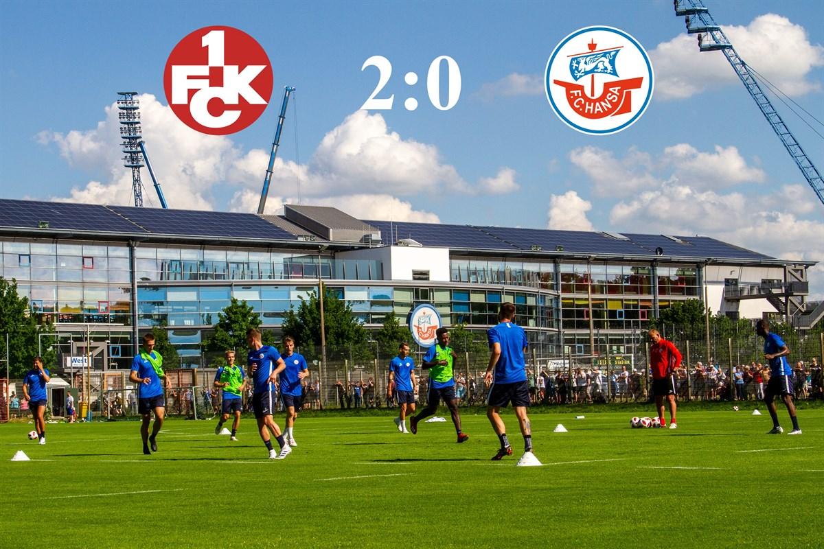 Kaiserslautern Hansa Rostock
