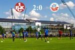 Hansa Rostock unterliegt Kaiserslautern mit 0:2