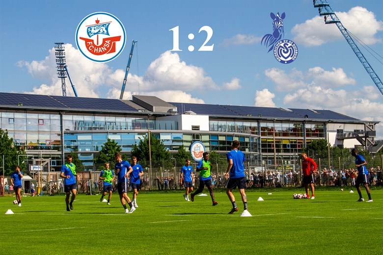 Hansa Rostock unterliegt Duisburg mit 1:2