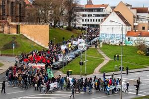 """Neustart Klima"" - Globaler Klimastreik in Rostock am 29. November 2019"