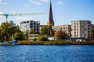 Vereinsgebäude der Kanufreunde Rostocker Greif wird saniert (Foto: KOE)