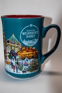 Rostocker Weihnachtsmarkt 2019 - Glühweintasse