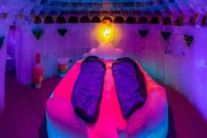 Übernachten im Eishotel bei Karls in Rövershagen