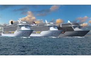 Die neue Serie der Universal-Class-Kreuzfahrtschiffe (Visualisierung: MV Werften)