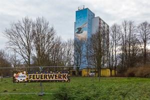 """Transparent am Südring wirbt für Feuerwerk-Sonderverkauf in der """"Pumpe"""""""