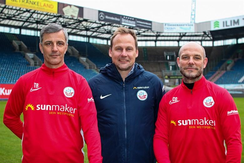 Hansa Rostock verlängert mit Trainer Jens Härtel