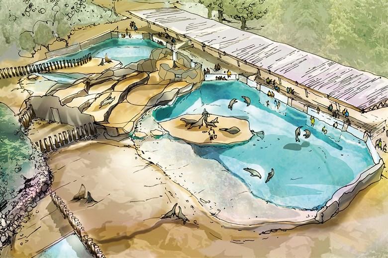 Neue Robbenanlage im Zoo Rostock