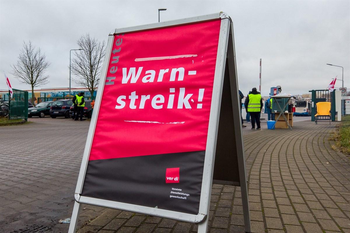Rsag Streik Rostock Morgen