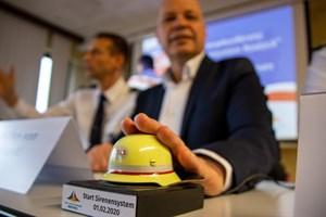 Sirenen-Test am 1. Februar 2020 in Rostock
