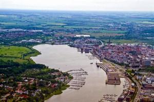 Am Rostocker Oval ist die Bundesgartenschau 2025 geplant (Foto: Archiv)