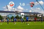 Hansa Rostock besiegt Ingolstadt mit 3:0