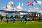 Hansa Rostock und Unterhaching trennen sich 1:1