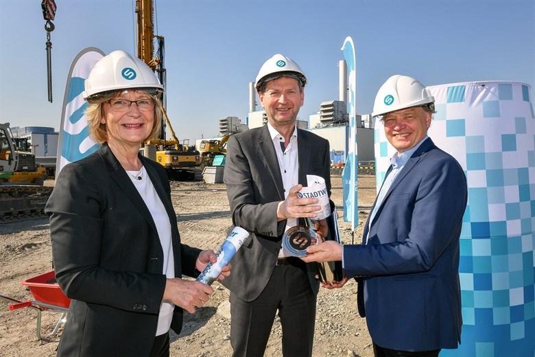 Stadtwerke Rostock bauen Wärmespeicher