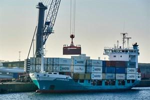 Überseehafen Rostock wird Knotenpunkt für Seidenstraßenverkehre (Foto: Rostock Port/Nordlicht)