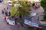 """Polizei löst """"Montagsspaziergang"""" gegen Corona-Beschränkungen auf"""