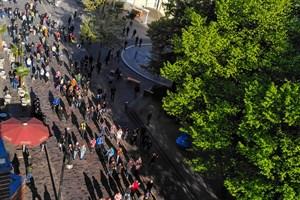 Corona: Versammlungen in der Innenstadt