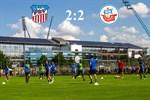 Hansa Rostock und Zwickau trennen sich 2:2