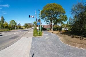 In der Satower Straße wurden 80 Meter des Gehweges neu gepflastert, um Fußgänger und Radfahrer sicher zu trennen.